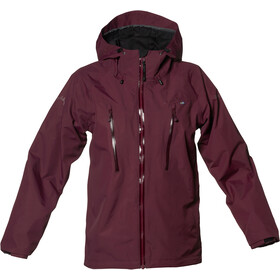Isbjörn Monsune Hard Shell Jacket Ungdom bordeaux